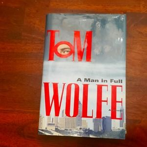 A Man In Full Hardcover Novel Book NEW